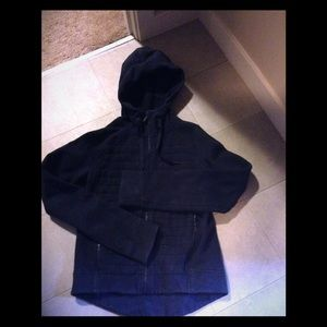 lululemon hooded navy blue color sz 2